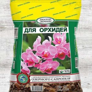Биогрунт Гера для орхидей