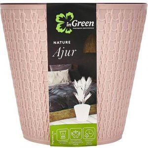 Горшок для цветов Ajur Английская роза 1