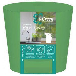 Горшок для цветов Easy Grow Зелёная роса 0