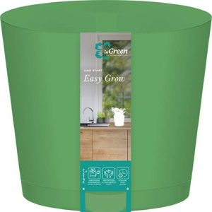 Горшок для цветов Easy Grow Зелёная роса 2 л