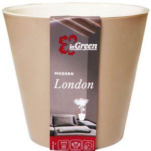 Горшок для цветов London Молочный шоколад 1