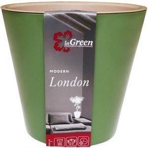 Горшок для цветов London Оливковый 1 л