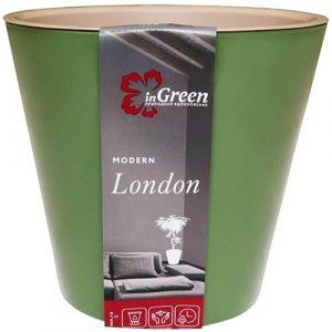 Горшок для цветов London Оливковый 1