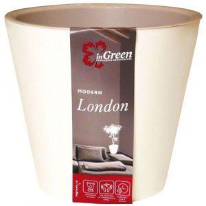 Горшок для цветов London Сливочный 1