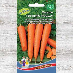 Морковь Гиганто Росса