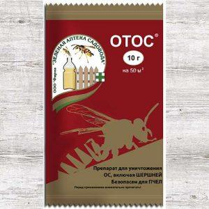 Средство для защиты от ос и шершней Отос